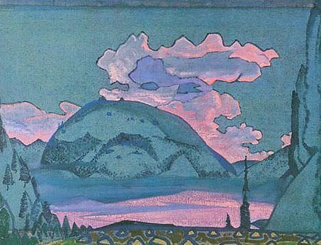 Пейзаж (Вечерний пейзаж) #8. Roerich N.K. (Part 2)