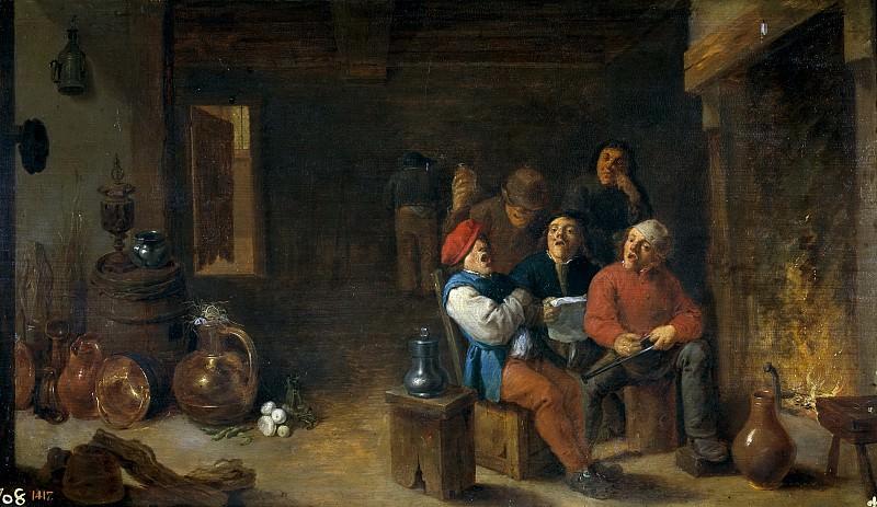 Teniers, David -- Música en la cocina. Part 4 Prado Museum
