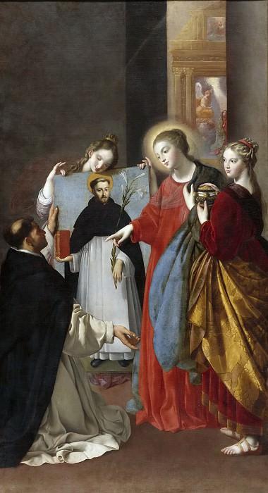 Maíno, Fray Juan Bautista -- Santo Domingo en Soriano. Part 4 Prado Museum