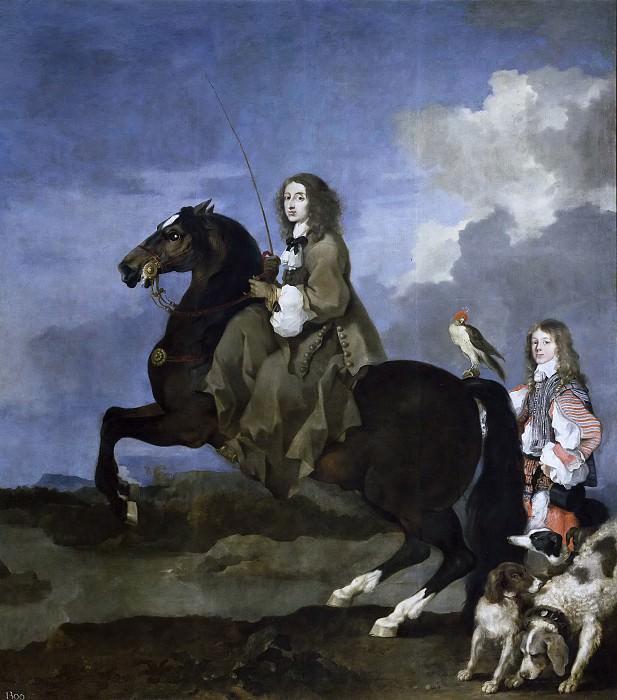 Bourdon, Sébastien -- Cristina de Suecia a caballo. Part 4 Prado Museum
