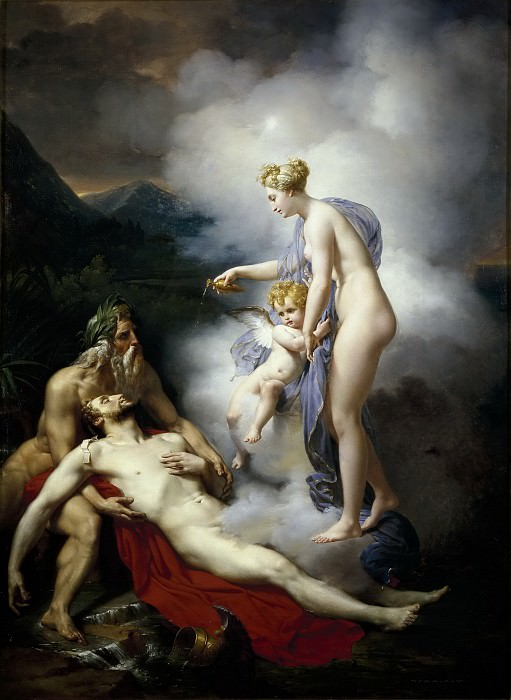 Blondel, Merry-Joseph -- Venus curando a Eneas. Part 4 Prado Museum