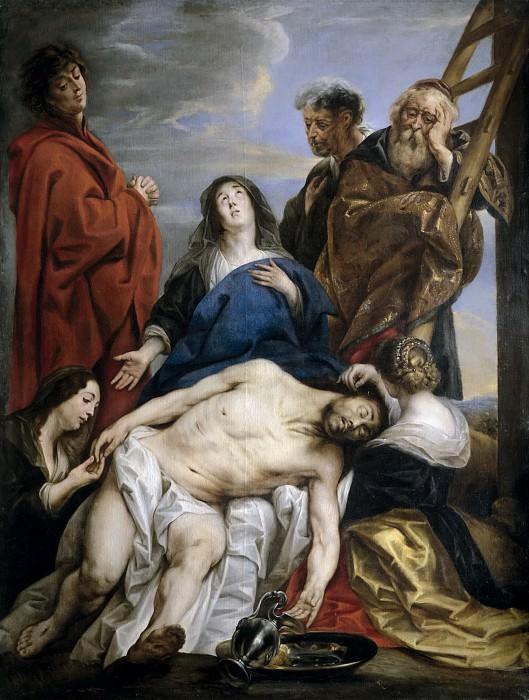 Jordaens, Jacob -- La Piedad. Part 4 Prado Museum