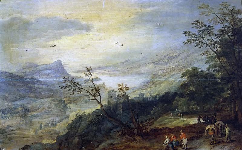 Brueghel el Viejo, Jan; Momper, Joos de II -- Paisaje. Part 4 Prado Museum