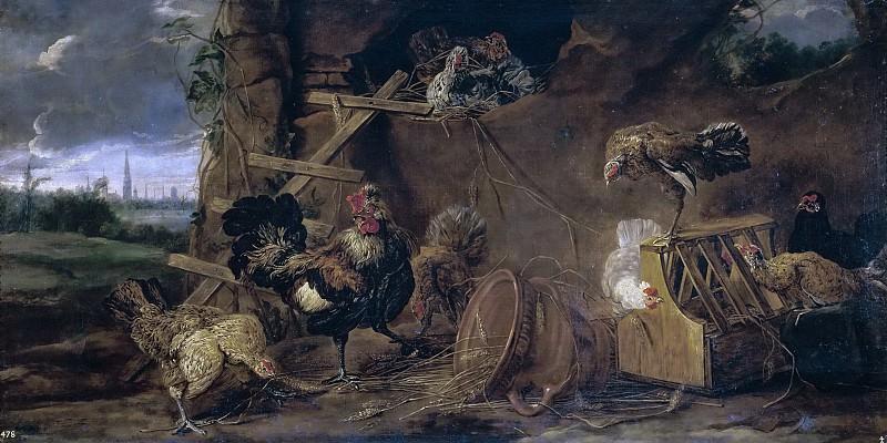 Фейт, Ян -- Курятник. Часть 4 Музей Прадо