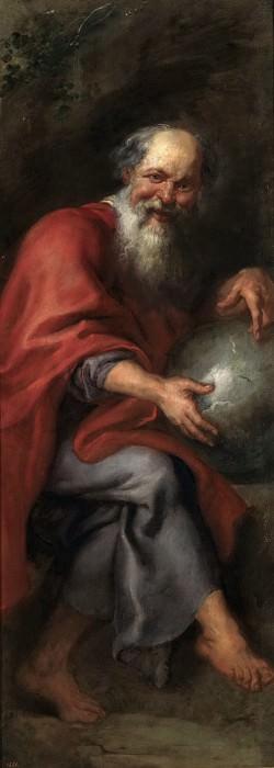 Democritus. - 1603. Peter Paul Rubens