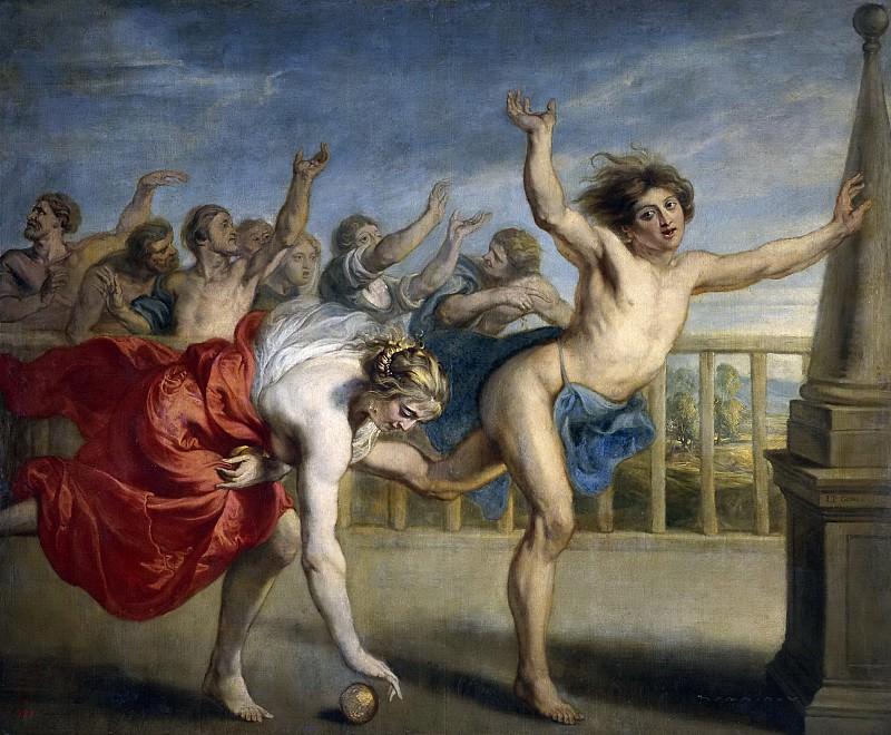 Gowy, Jacob Peter -- Hipómenes y Atalanta. Part 4 Prado Museum