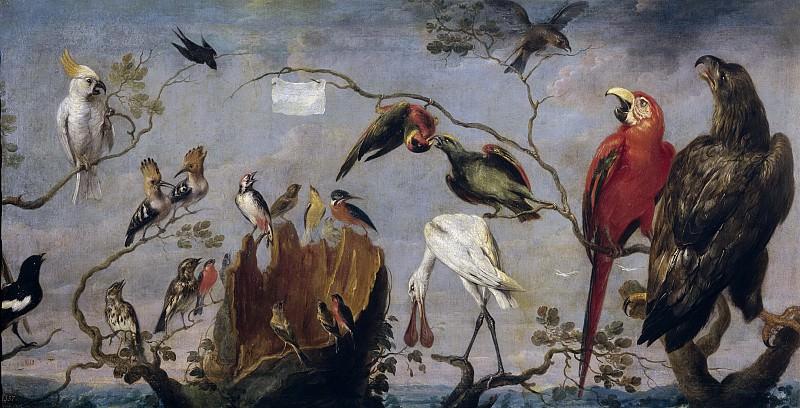 Снейдерс, Франс -- Птичий концерт. Часть 4 Музей Прадо