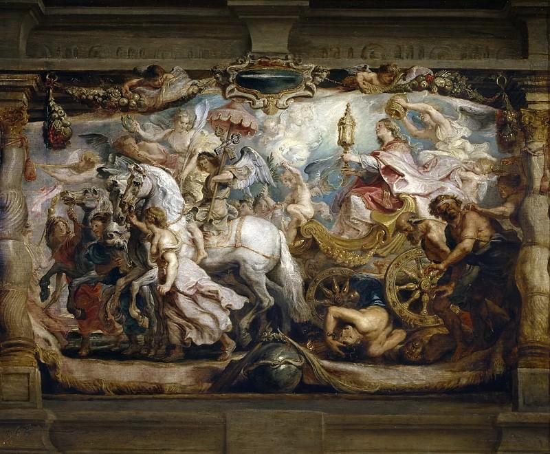 Triunfo de la Iglesia. Peter Paul Rubens