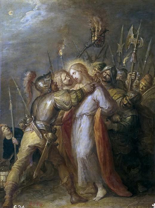 Francken, Frans II -- El Prendimiento de Cristo. Part 4 Prado Museum