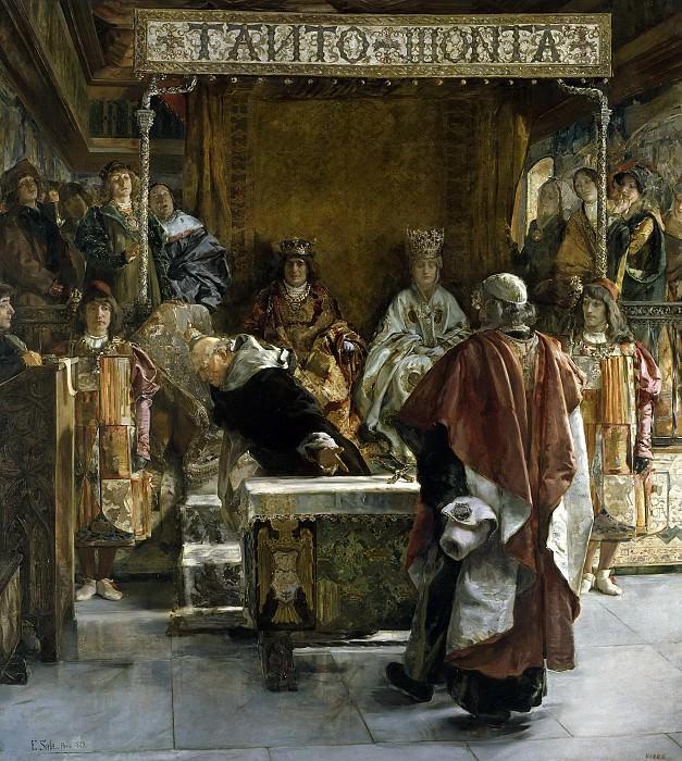 Sala y Francés, Emilio -- Expulsión de los judíos de España (año de 1492). Part 4 Prado Museum