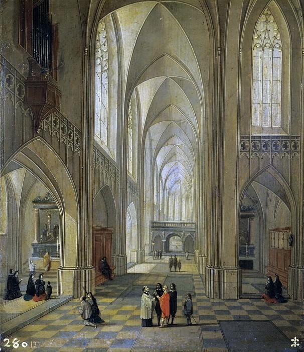 Лодевейк Нефс и Франс Франкен III -- Интерьер церкви. Часть 4 Музей Прадо