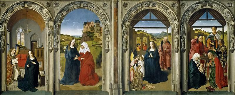 Баутс, Дирк -- Алтарь Девы Марии. Часть 4 Музей Прадо