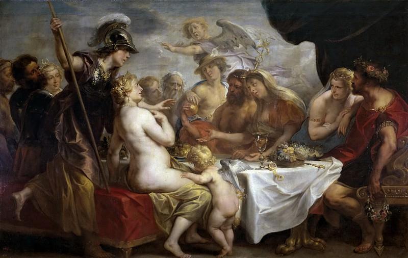 Jordaens, Jacob -- Las bodas de Tetis y Peleo. Part 4 Prado Museum