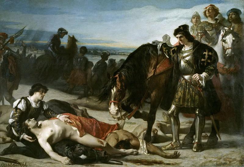Casado del Alisal, José -- Los dos caudillos. Part 4 Prado Museum