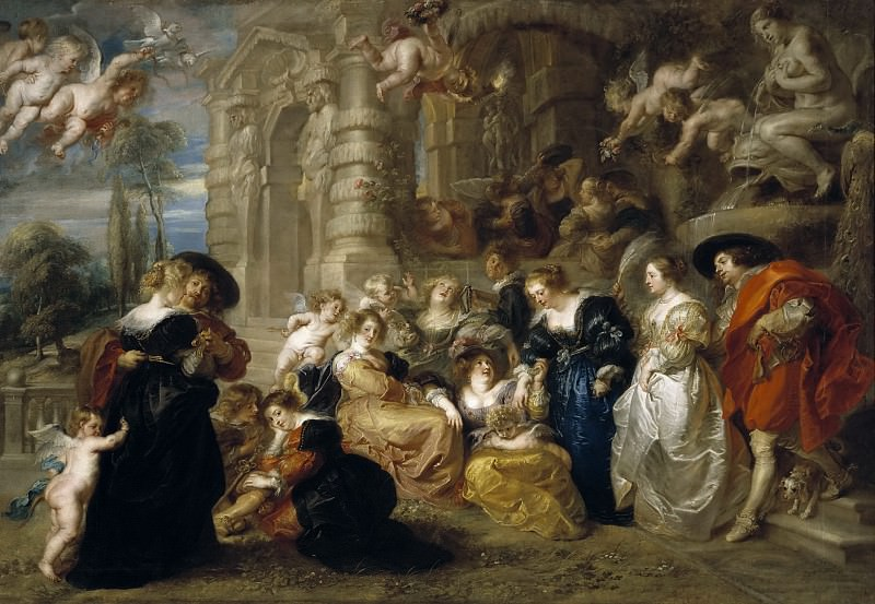El jardín del Amor. Peter Paul Rubens