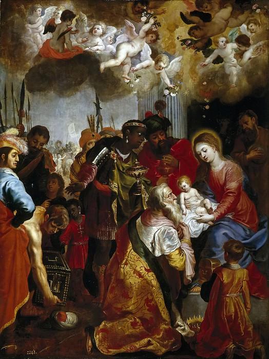 Balen, Hendrik van -- La Adoración de los Reyes Magos. Part 4 Prado Museum