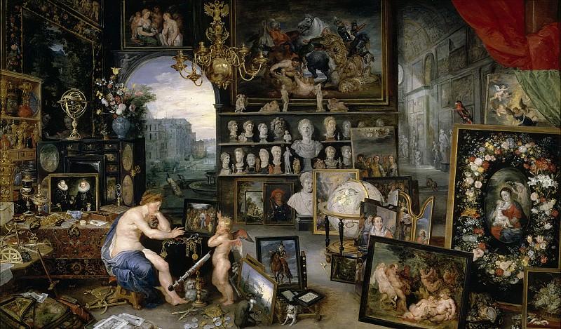 Rubens, Pedro Pablo; Brueghel el Viejo, Jan -- La Vista. Part 4 Prado Museum