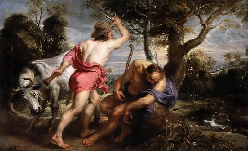 Mercurio y Argos. Peter Paul Rubens