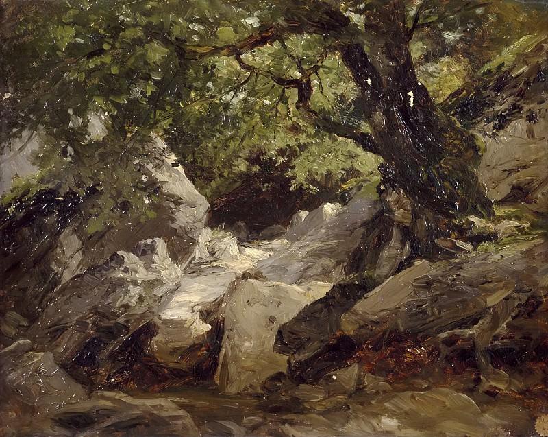 Haes, Carlos de -- Torrentera (Alsasua). Part 4 Prado Museum