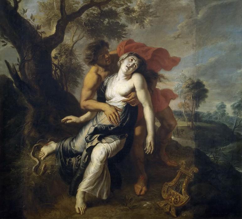 Quellinus, Jan Erasmus -- La muerte de Eurídice. Part 4 Prado Museum