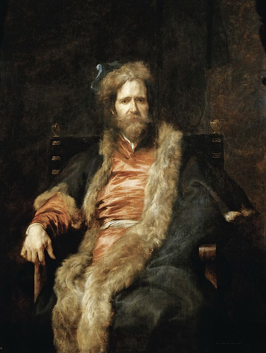 Dyck, Anton van -- El pintor Martin Ryckaert. Part 4 Prado Museum