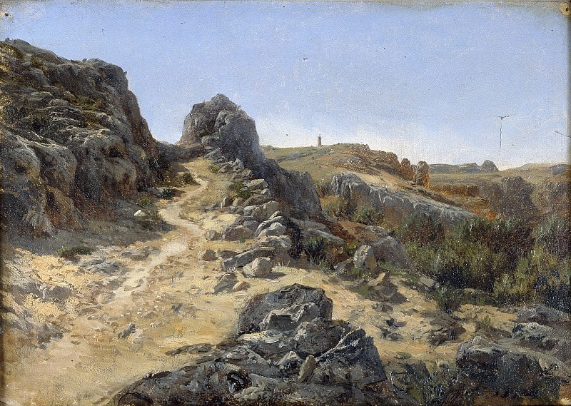 Haes, Carlos de -- Cercanías del Monasterio de Piedra. Part 4 Prado Museum
