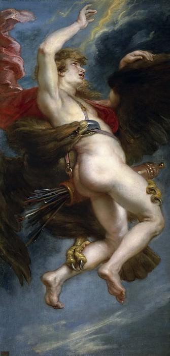 Рубенс, Питер Пауль -- Похищение Ганимеда. Часть 4 Музей Прадо