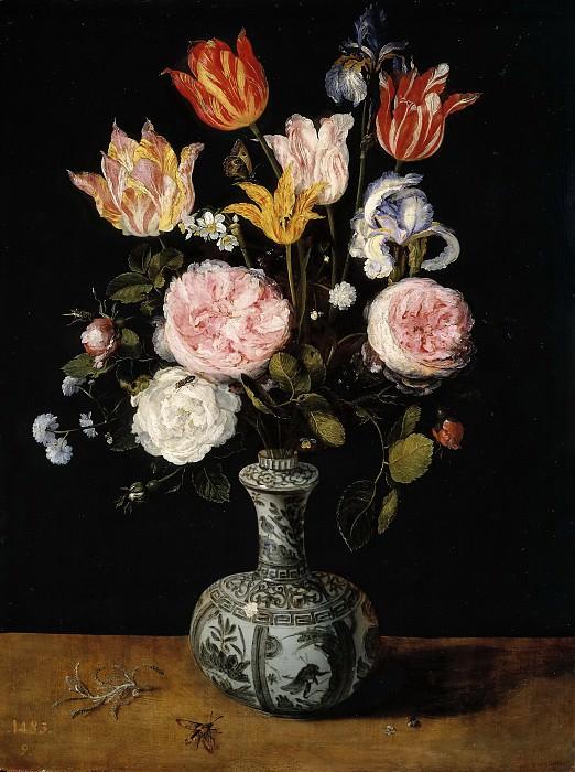 Florero. Jan Brueghel The Elder