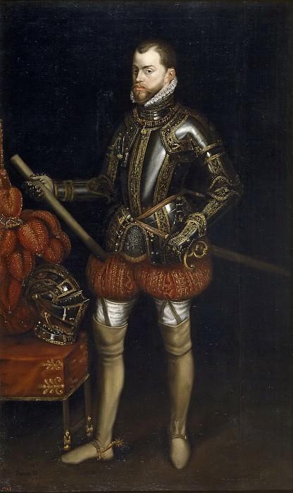 Аноним -- Филипп II, с броней из Сен-Кантена. Часть 4 Музей Прадо