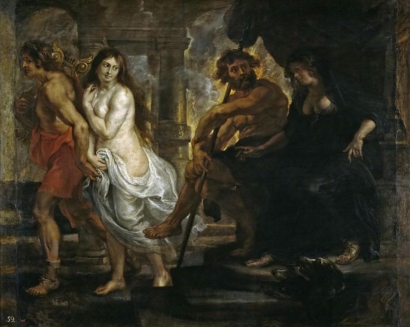 Rubens, Pedro Pablo (y taller) -- Orfeo y Eurídice. Part 4 Prado Museum