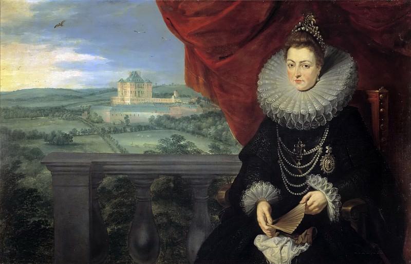 La infanta Isabel Clara Eugenia. Jan Brueghel The Elder