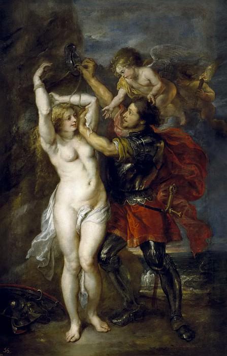 Персей освобождает Андромеду (совместно с Якобом Йордансом). Питер Пауль Рубенс