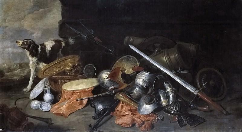 Boel, Peeter -- Armas y pertrechos de guerra. Part 4 Prado Museum