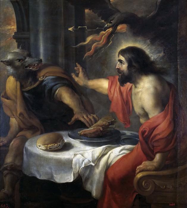 Коссьер, Ян -- Юпитер и Ликаон. Часть 4 Музей Прадо