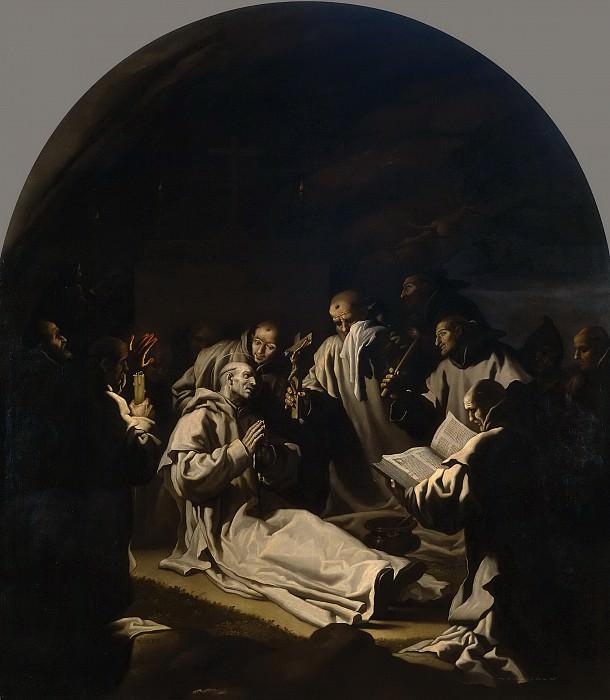 Carducho, Vicente -- La muerte de San Bruno. Part 4 Prado Museum