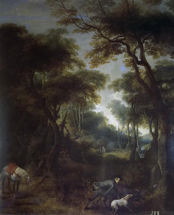 Snayers, Peter -- Cacería de Felipe IV. Part 4 Prado Museum