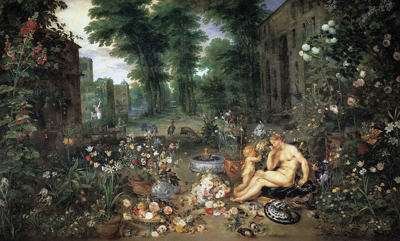 El Olfato. Jan Brueghel The Elder