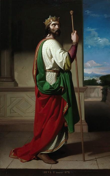 Гисберт Перес, Антонио -- Лиува I, король вестготов. Часть 4 Музей Прадо