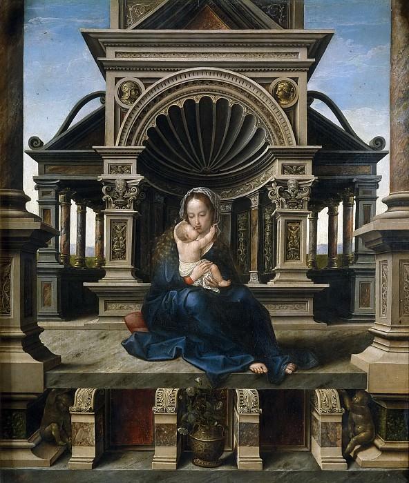 Орлей, Бернарт ван -- Лувенская Богоматерь. Часть 4 Музей Прадо