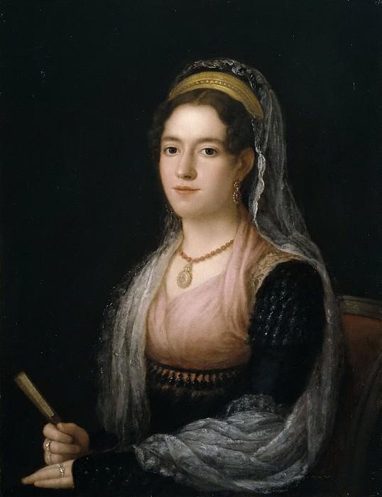 Esteve y Marqués, Agustín -- Retrato de señora. Part 4 Prado Museum