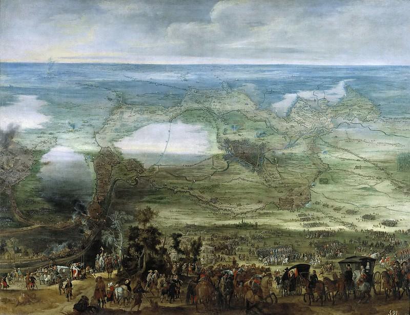 Snayers, Peter -- Isabel Clara Eugenia en el Sitio de Breda. Part 4 Prado Museum