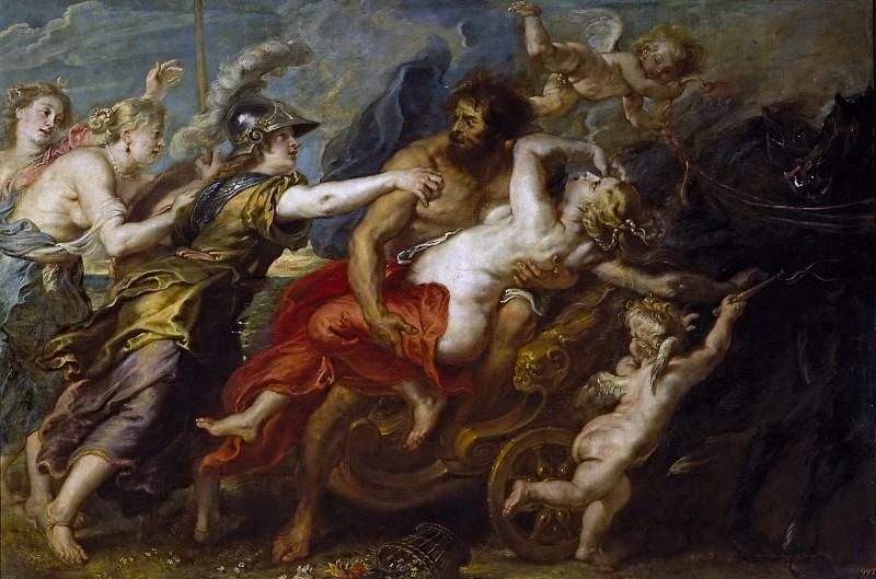 Питер Пауль Рубенс (и мастерская) -- Похищение Прозерпины. Часть 4 Музей Прадо