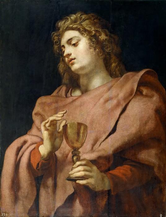 Рубенс, Питер Пауль -- Иоанн Богослов. Часть 4 Музей Прадо