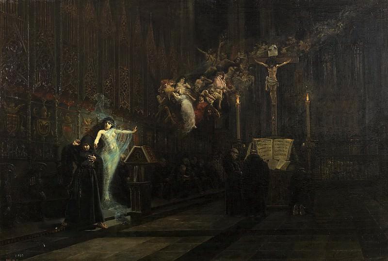 Nicolau Cutanda, Vicente -- La visión de Fray Martín. Part 4 Prado Museum