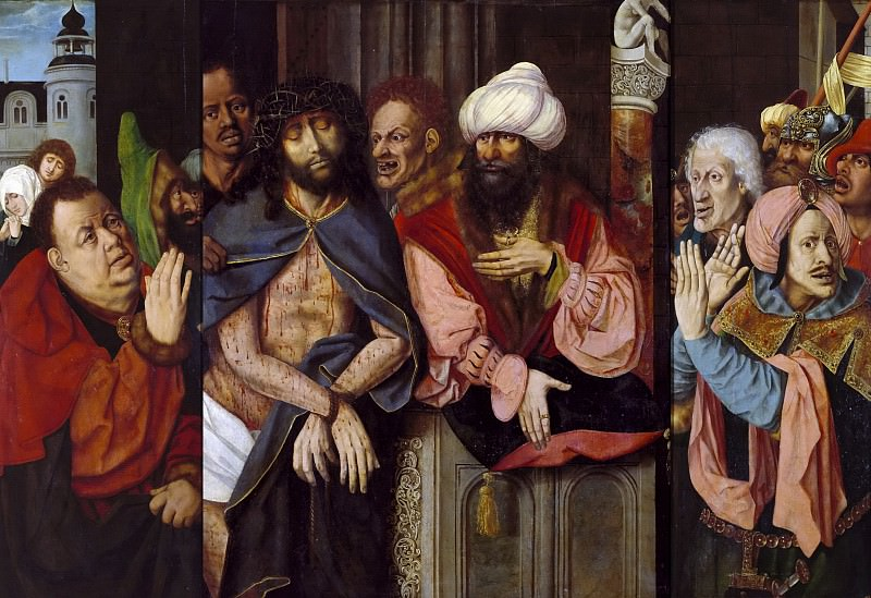 Maestro de la Santa Sangre -- Ecce Homo. Part 4 Prado Museum