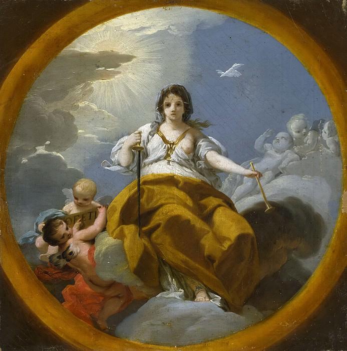 Кастильо, Хосе дель -- Пророчица. Часть 4 Музей Прадо
