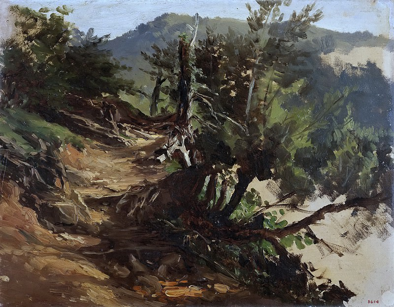 Хаэс, Карлос де -- Дорога в лесах Астурии. Часть 4 Музей Прадо