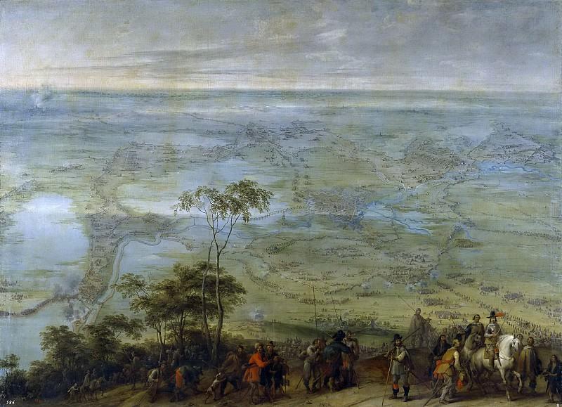 Snayers, Peter -- Toma de Breda. Part 4 Prado Museum