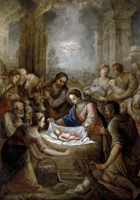 Pere, Antonio van de -- La Adoración de los pastores. Part 4 Prado Museum