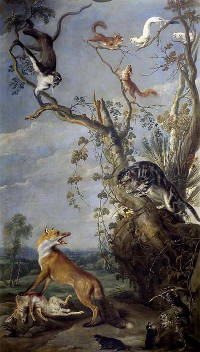 Снейдерс, Франс -- Кот и лиса. Часть 4 Музей Прадо